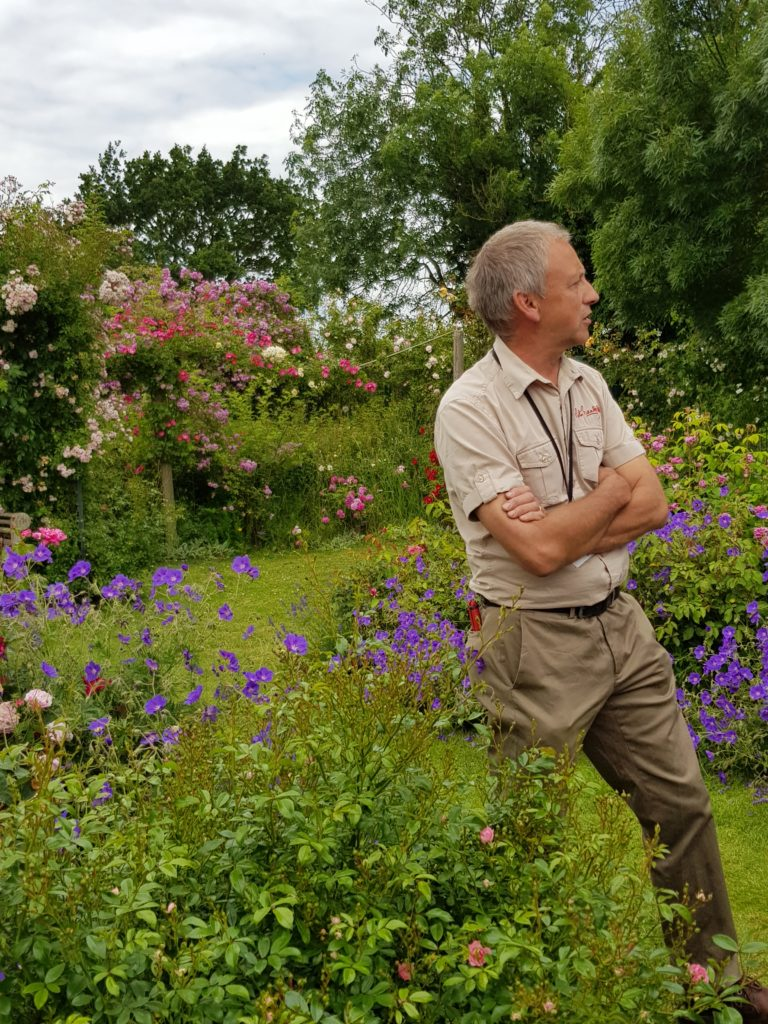 "Simon White tells us about the history of ""Peter's garden"""